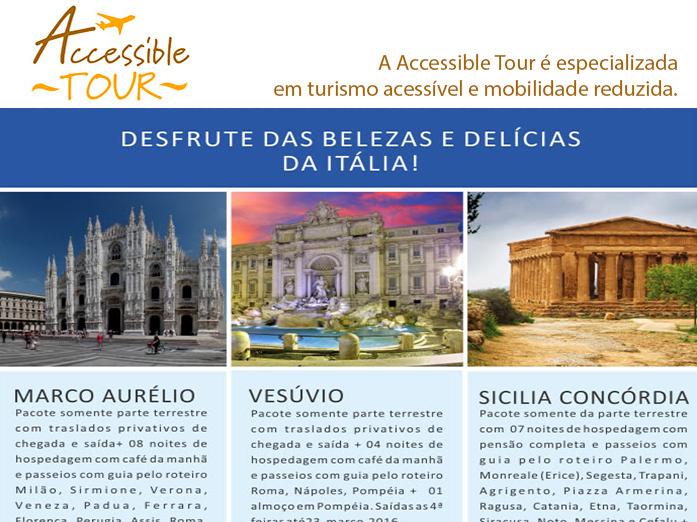 Desfrute das belezas e delícias da Itália! Diversas opções de roteiros com o melhor da Itália