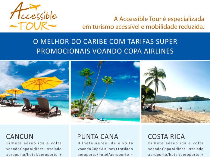 O melhor do Caribe com tarifas super promocionais voando copa airlines