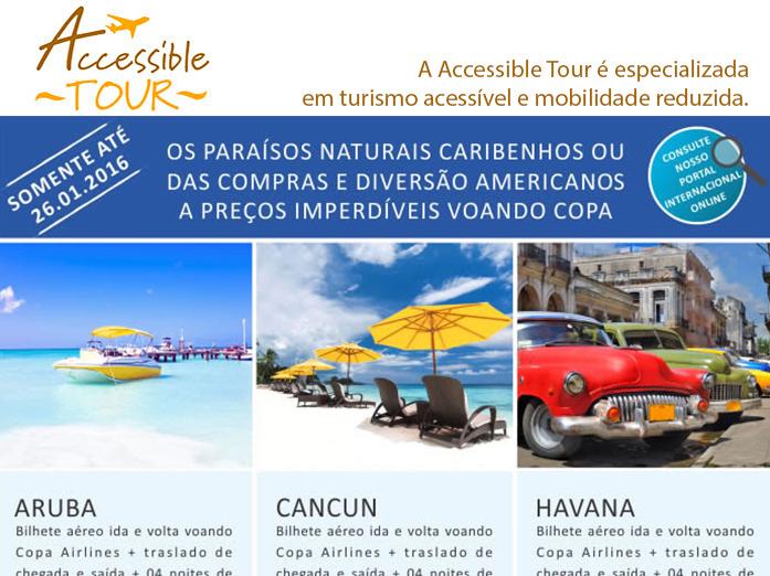 Os paraísos naturais caribenhos ou das compras e diversão americanos a preços imperdíveis voando copa