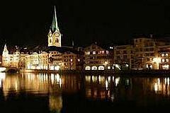 Suiça, Áustria, Danúbio e Itália